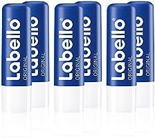 Labello Original lippenverzorgingsstift in 1 stuks (1 x 4,8 g), lippenverzorging voor natuurlijk mooie lippen,...