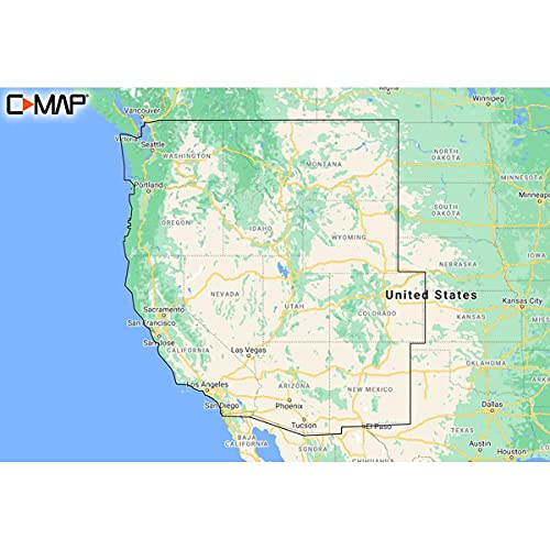 Lowrance M-NA-Y211-MS C-MAP Reveal US Lakes West