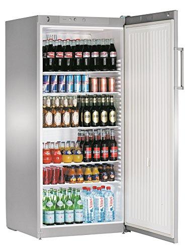 Liebherr FKvsl 5410Premium autonome Silber Kühlschrank Getränkespender–Kühlschränke Getränkespender (autonome, silber, 6Einlegeböden, rechts, R600a, 1–15°C)
