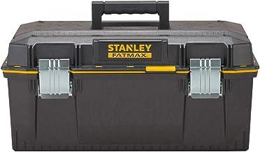 Stanley FatMax 1-94-749 Gereedschapskoffer (58,4 x 30,5 x 26,7 cm, spatwaterdichte koffer, robuuste niet-roestende metalen...