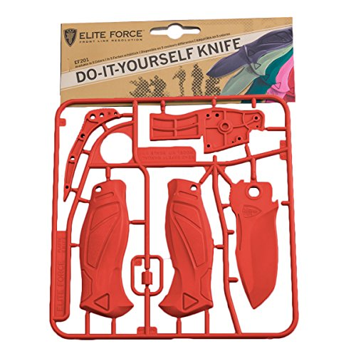 Umarex Elite Force 201 Selfmade Kit Do-It-Yourself Knife - Das Messer zum Selberbauen (Rot)