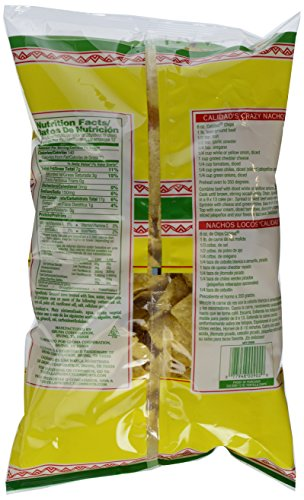 Calidad Yellow Corn Tortilla Chips   Gluten Free, Trans Fat Free   Mexican Restaurant Style Chips   12 oz