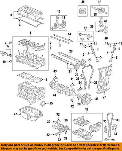 Genuine Honda 14310-5A2-A01 Vtc (46T) Actuator Assembly