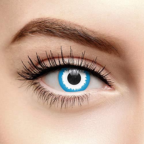 Chromaview Elf Farbige Kontaktlinsen Ohne Stärke Blau (30 Tage)