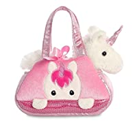 Part of Aurora's highly popular Fancy Pals Pet Carrier Collection Soft and extremely cuddly pet carrier bag & soft toy made with high quality materials Unicorn soft toy can be removed from the bag, so there are two gifts in one Children will love thi...