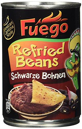 Fuego Refried Black Beans, 6er Pack (6 x 430 g)
