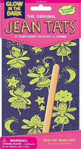 Brillent dans le Noir - Jean / Denim / Tissu Tatouages - Fées