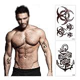 Zoom IMG-1 konsait 18 fogli finti tatuaggi