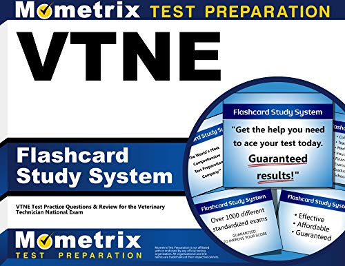 VTNE Flashcard Study System: VTNE Test Practice Questions & Review for the Veterinary Technician National Exam (Cards)