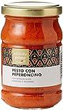Marca Amazon - Wickedly Prime - Salsa pesto de pimiento rojo y guindilla (6 x 190g)