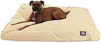 Citrus Towers Small Rectangle Indoor Outdoor Pet Dog Bed With