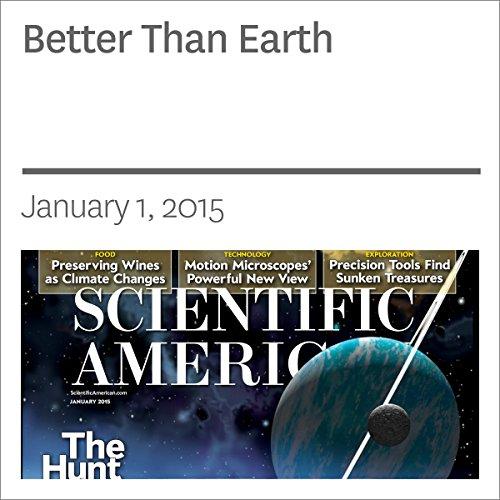 Better Than Earth copertina