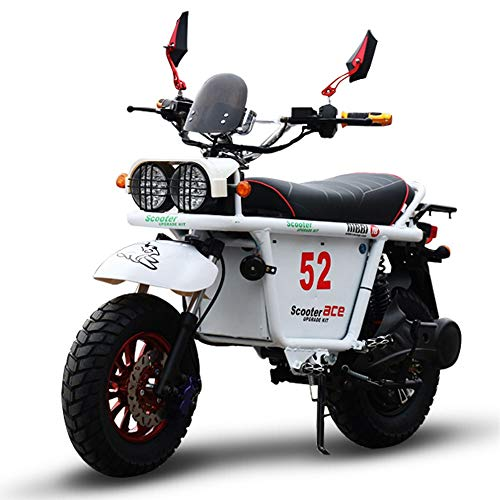 MRMRMNR 72V 1800W E-Scooter para Adultos, Control Remoto, Transmisión De 3 Velocidades,...