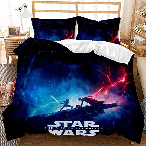PTNQAZ Juego de cama de Star Wars para...