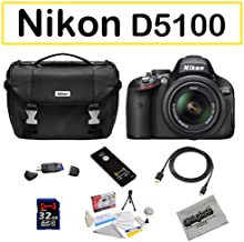 Shooter Package Featuring The Nikon D5100 Digital Camera, 32GB Opteka Class 10 Memory Card and More