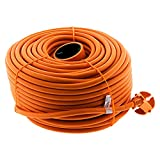 Prolongateur 16A HO5VV-F 2x 1,5 2P sans terre Orange 50m - Zenitech