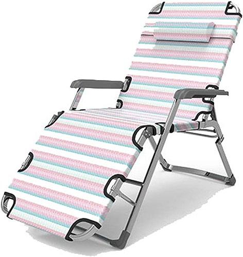 Aszhdfihas-home Lit de Camping Lit de Camp Simple Simple Accueil Accompagnateurs Lits Adulte Extérieur Portable Chaise Portable Bureau Sieste Lit Pliant Randonnée en Plein air