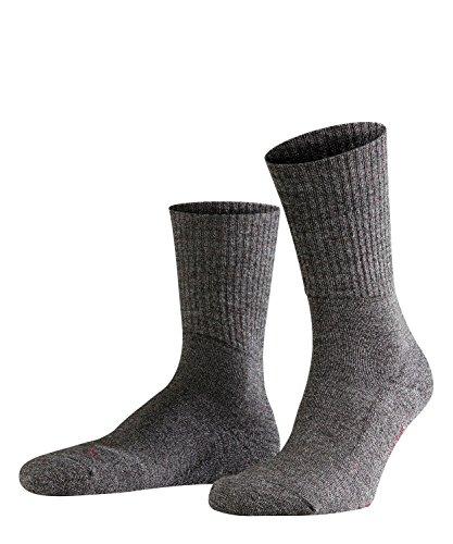 FALKE Unisex Socken Walkie Light, Schurwolle Polyamid, 1 Paar, Grau (Smog 3150), 44-45 (UK 9.5-10.5 Ι US 10.5-11.5)