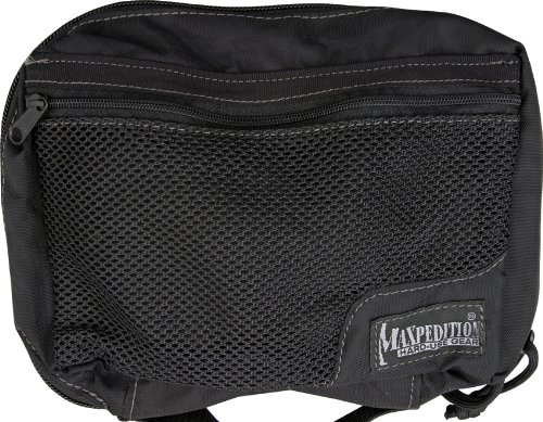 Maxpedition Individual First Aid Pouch Backpack, Black