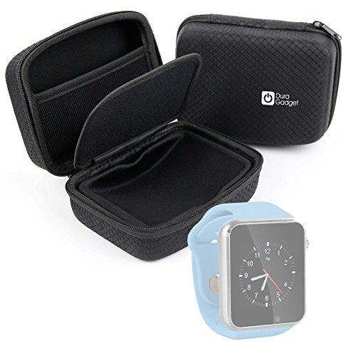 DURAGADGET Carcasa para Reloj YuanGuo® | Smarter® | Smartlife YG8 | Stoga ST-DM360 | Turnmeon | Viwel | VOSMEP - con Bolsillo De Rejilla Interno Y Separador Protector