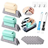 11pc Magic Window Cleaning Brush with Replacement Cotton, Premium Window Cleaner, Window Cleaning Tools, Cleaning Supplies, for Car Shower Doors House Glass.etc Cleaning Supplies Gadgets Kits