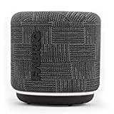 DOSS FABRIQ Portable Bluetooth Speaker with Clear Sound, 33ft Bluetooth Range, Built-in Mic, Ultra-Portable Design, Wireless Speaker Compatible for Home, Outdoors, Travel - Grey