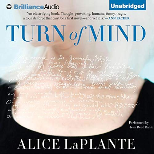 Turn of Mind audiobook cover art