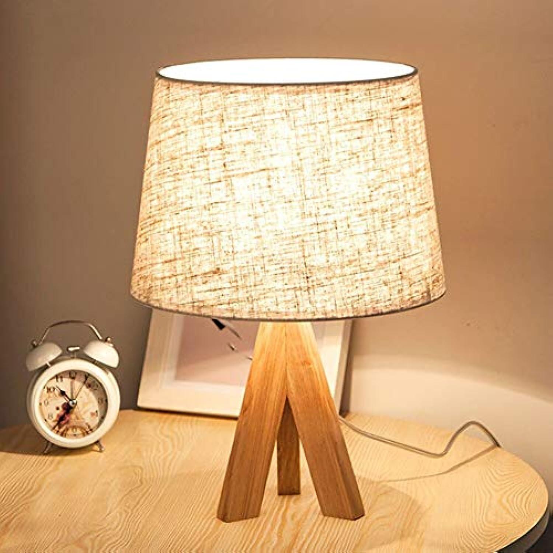 Moderne Minimalistische Schlafzimmer Nachttischlampe, Kreative Massivholz Tischlampe Persnlichkeit Neuheit Hotel Dekoration Lampe Nordic Tischlampe,A,M