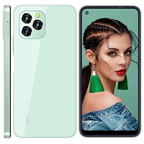 Smartphone Offerta del Giorno OUKITEL C21 Pro, 6,39  HD+ 4GB 64GB (SD 256GB) Cellulari Offerte, Android 11 Dual SIM 21MP 8MP Fotocamera Smartphone, Batteria 4000 mAh, Face ID Telefono Economico Verde