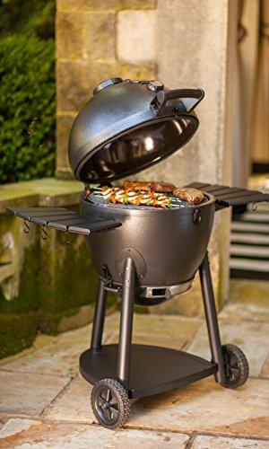 Char-Griller E16620 Akorn Kamado Charcoal Grill, Graphite