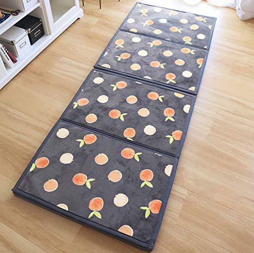 Japanese Futon Mattress Japanese Floor Mattress Folding Tatami Floor Mat Portable Camping Mattress Kids Sleeping Pad Floor Lounger Couch Bed/A / 100x200cm