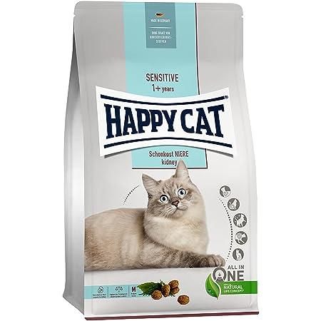 HAPPY CAT (ハッピーキャット) ダイエットニーレ - 腎臓ケア 全猫種 成猫〜シニア猫 pHコントロール グルテンフリー 無添加 ヒューマングレード ドイツ製 キャットフード ドライ (300g)