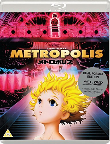 OSAMU TEZUKAS METROPOLIS (Standard Dual-Format Edition) [Reino Unido] [Blu-ray]