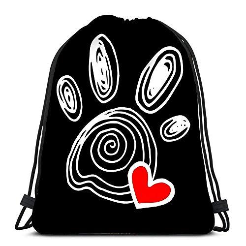 XMXM Mochila con cordón Bolsas deportivas Cinch Tote Bags Raza de gato Rostro azul ruso Dibujo de boceto para viajar y almacenamiento