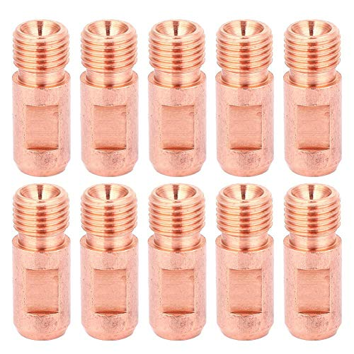 10 piezas Boquilla de antorcha de soldadura por arco Puntas de antorcha de soldadura sumergida M14x1.5 4.0 mm/5.0 mm(∅4.0)