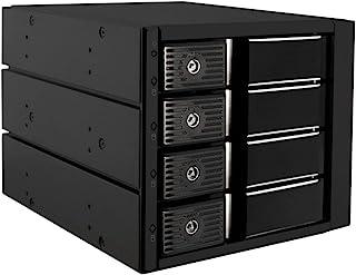 "Kingwin Aluminum Single Bay Hot Swap Mobile Rack Tray for 2.5"" or 3.5"" SSD/HDD, Internal SATA Hard Drive Backplane Enclosu..."