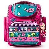 Delune Cartable Fille Primaire Sac à Dos Enfant Backpack Sac d'école avec Sangles de Sécurité pour Cadeau de Rentreé Scolaire