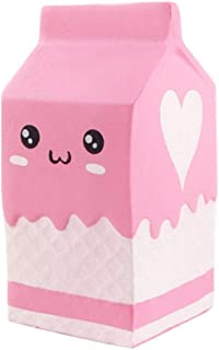 JSPOYOU Squishy Yogurt Bottle Scented Squishy Slow Rising Squeeze Toys Jumbo Collection