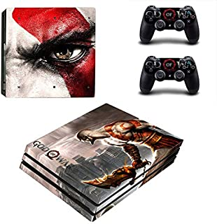 Playstation 4 Pro Skin Set – role-playing game - HD Printing Vinyl Skin Cover Protective for PS4 Pro Console and 2 PS4 Controller by KAJAL MANI.