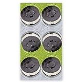 Gardenline 6 x Ersatzfadenspule Trimmer Einhell ALDI