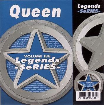 Queen Karaoke Disc - Legends Series CDG VOL 188