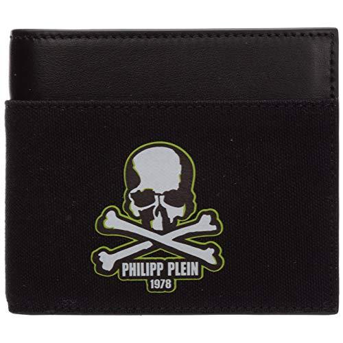 Philipp Plein herren skull Geldbörse nero