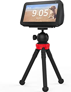 Stand for Echo Show 5, Flexible Tripod Adjustable Stand Holder - Echo Show 5 Stand 360 Degree Rotatable Spherical Tripod f...