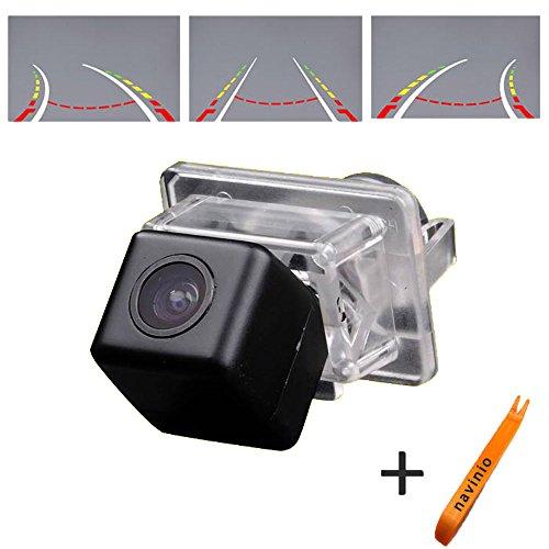 170° Weitwinkel HD Track Rückfahrkamera Auto Rückansicht Unterstützung mit Waterproof Night Vision für C CL CLS Klass C180/C200/C280/C300/C350/C63 AMG/C204/S204/W216/W204