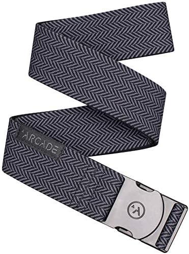 Arcade Belt Mens Adventure Ranger Belts Heavy Duty Elastic Webbing Non Metal Travel Friendly product image