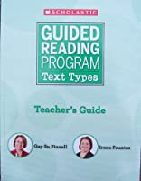 Guided Reading Program - Text Types 0545320070 Book Cover