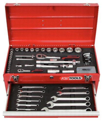 "Preisvergleich Produktbild KS Tools 911.0100 1 / 4""+1 / 2"" Werkzeug-Satz,  100-tlg."