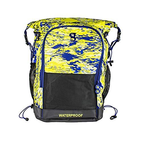 geckobrands Dueler 32L Waterproof Backpack, Mahi geckoflage