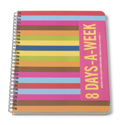 Bob's Your Uncle 8 Days-A-Week Planner Journal, Multicolor (J05)