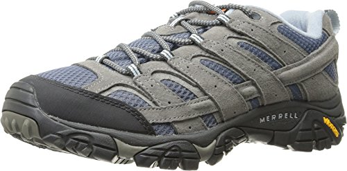 Merrell Women's Moab 2 Vent Hiking Shoe, Smoke, 6.5 W US